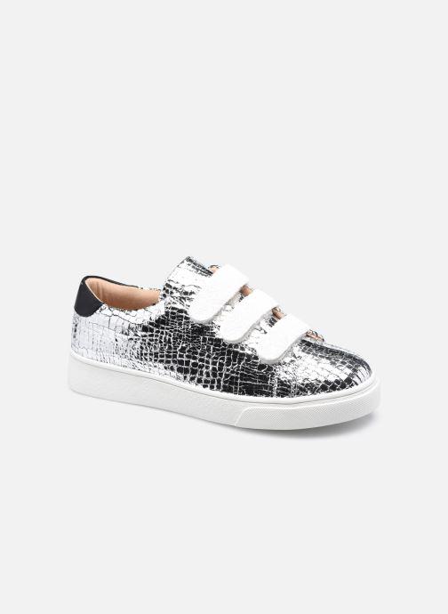Sneakers Vanessa Wu BK2148 Zilver detail