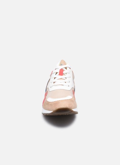 Sneaker Vanessa Wu BK2130 beige schuhe getragen