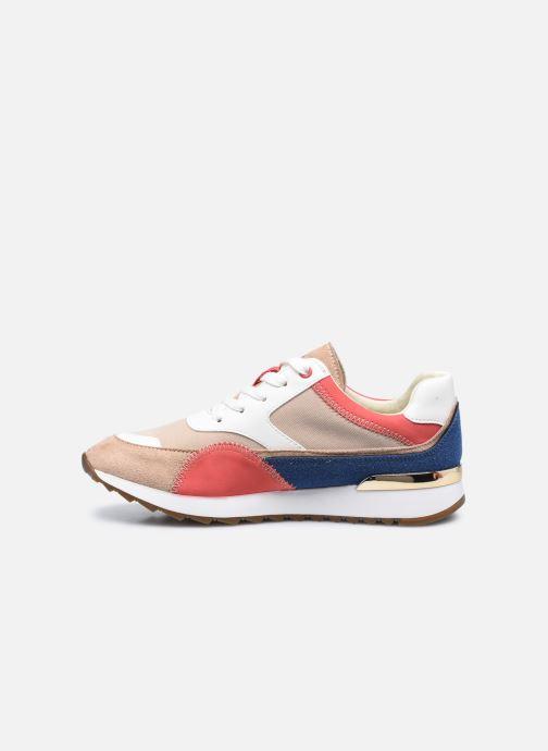 Sneaker Vanessa Wu BK2130 beige ansicht von vorne