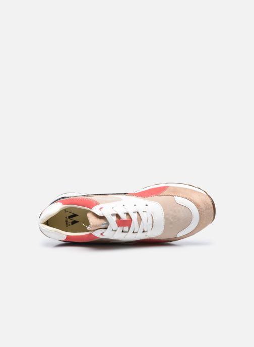 Sneaker Vanessa Wu BK2130 beige ansicht von links