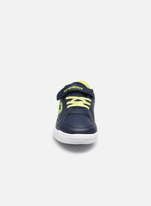 Sneaker Kangaroos K-Cope EV blau schuhe getragen
