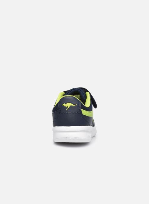 Sneaker Kangaroos K-Cope EV blau ansicht von rechts