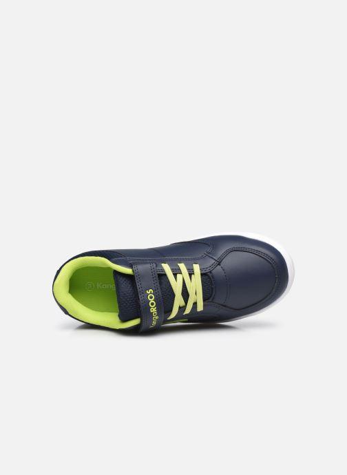 Sneaker Kangaroos K-Cope EV blau ansicht von links