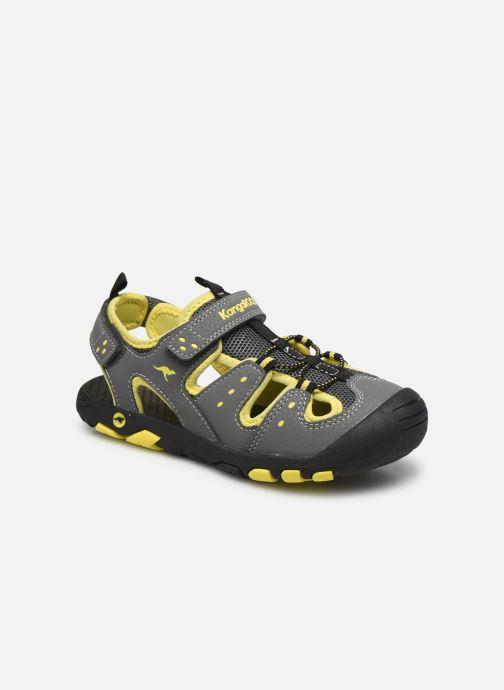 Sandales et nu-pieds Kangaroos K-Trek Gris vue détail/paire
