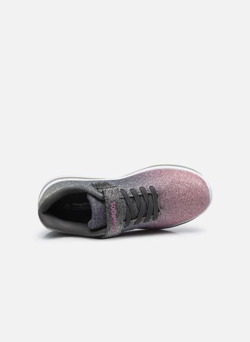 Sneaker Kangaroos Kangashine grau ansicht von links