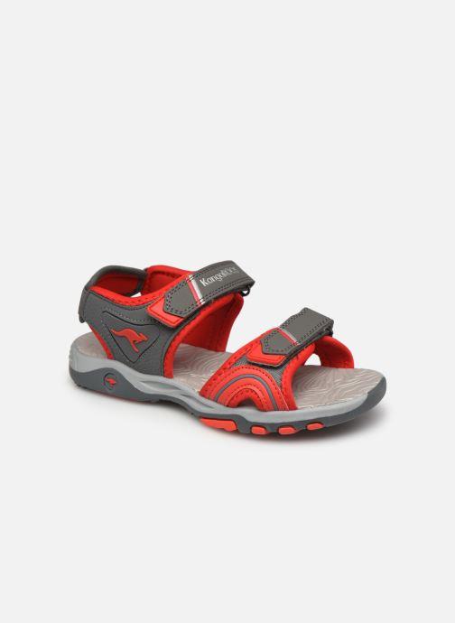 Sandales et nu-pieds Kangaroos K-Track Gris vue détail/paire