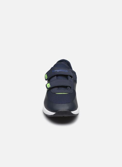 Sneaker Kangaroos KD-Fit V blau schuhe getragen
