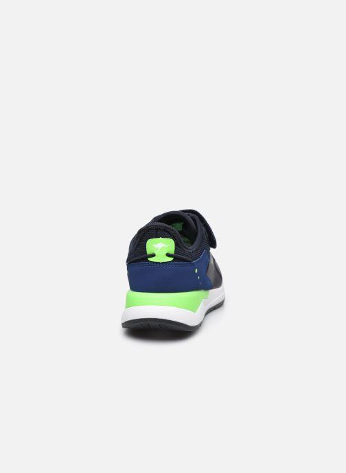 Sneaker Kangaroos KD-Fit V blau ansicht von rechts