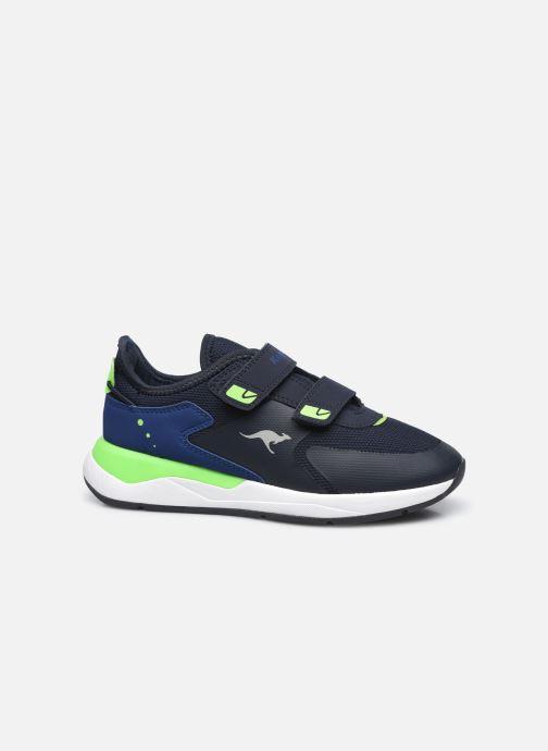 Sneaker Kangaroos KD-Fit V blau ansicht von hinten