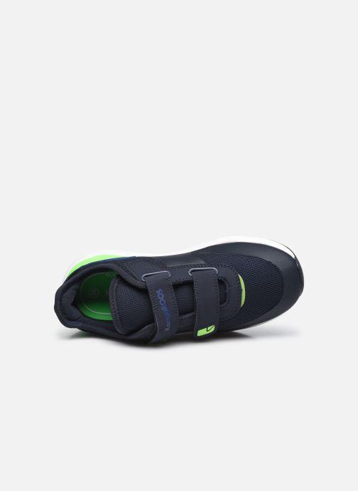 Sneaker Kangaroos KD-Fit V blau ansicht von links