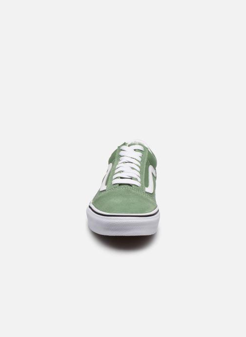Sneaker Vans UA Old Skool M grün schuhe getragen