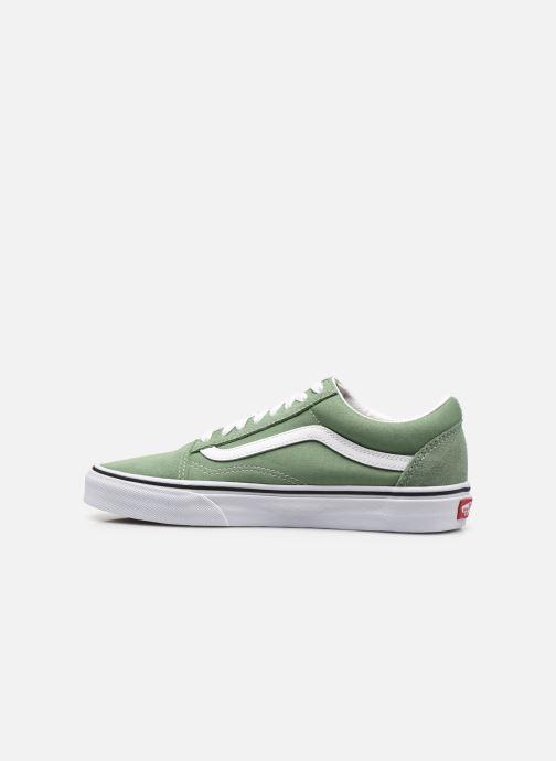 Sneaker Vans UA Old Skool M grün ansicht von vorne