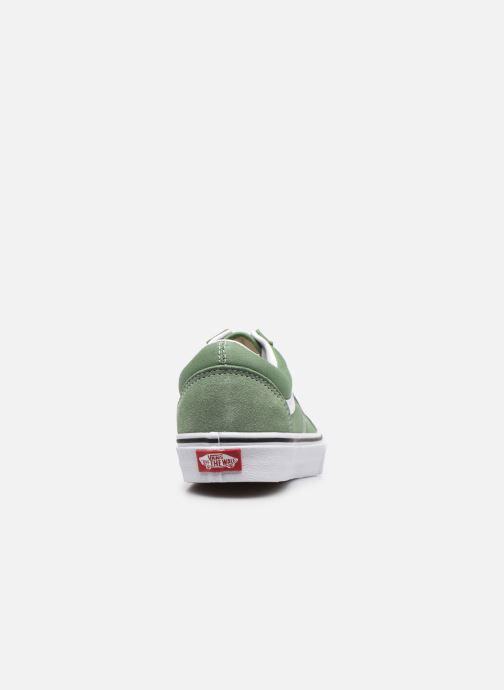 Sneaker Vans UA Old Skool M grün ansicht von rechts