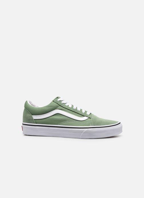 Sneaker Vans UA Old Skool M grün ansicht von hinten