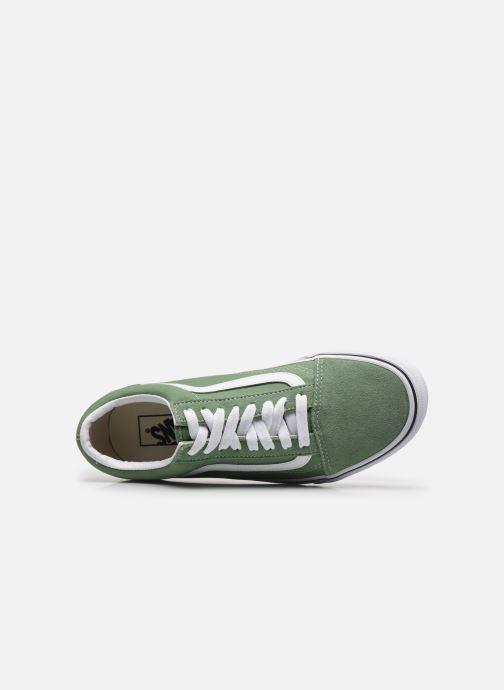 Sneaker Vans UA Old Skool M grün ansicht von links