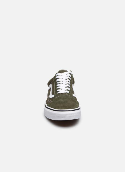 Baskets Vans UA Old Skool M Gris vue portées chaussures