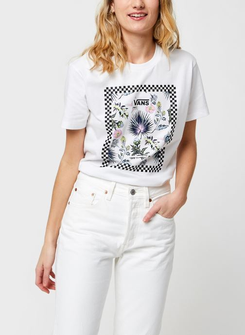 T-shirt - Wm Border Floral Bf