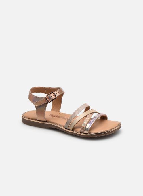 Sandales et nu-pieds Bopy Friedo Lilybellule Beige vue détail/paire