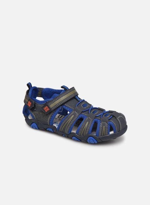 Sandalias Bopy Tiaoul SK8 Azul vista de detalle / par