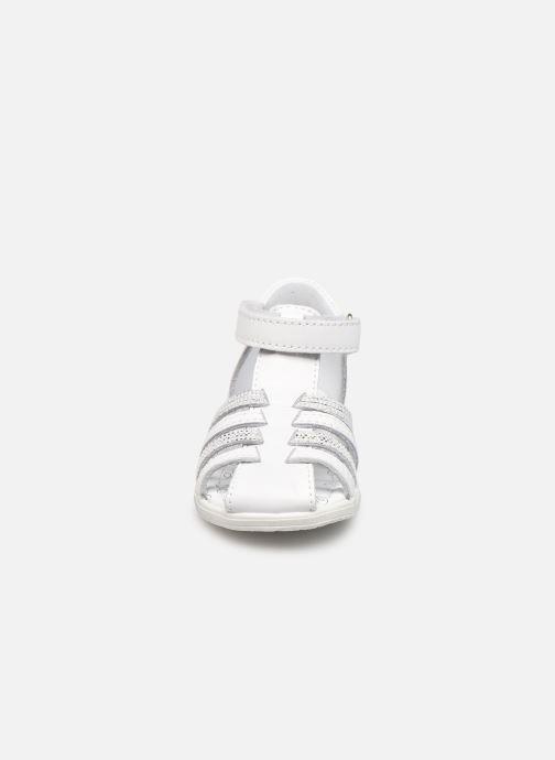 Sandales et nu-pieds Bopy Rocleta Blanc vue portées chaussures