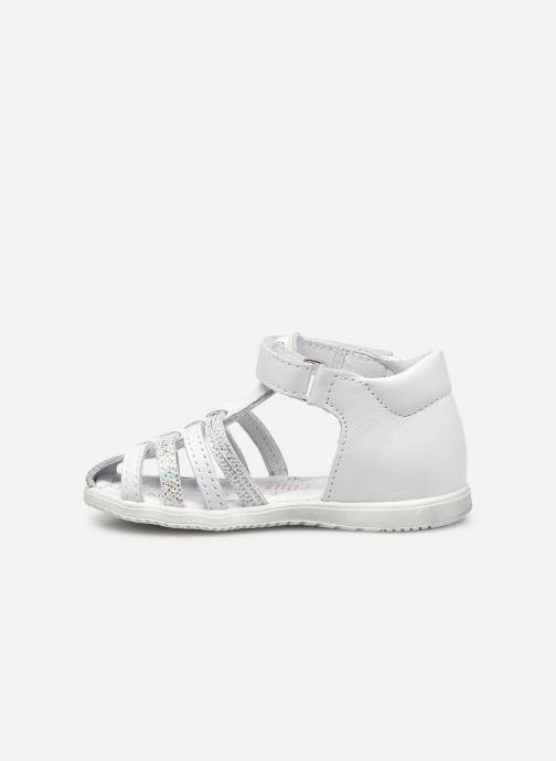 Sandales et nu-pieds Bopy Rocleta Blanc vue face