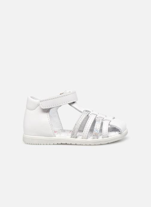 Sandales et nu-pieds Bopy Rocleta Blanc vue derrière