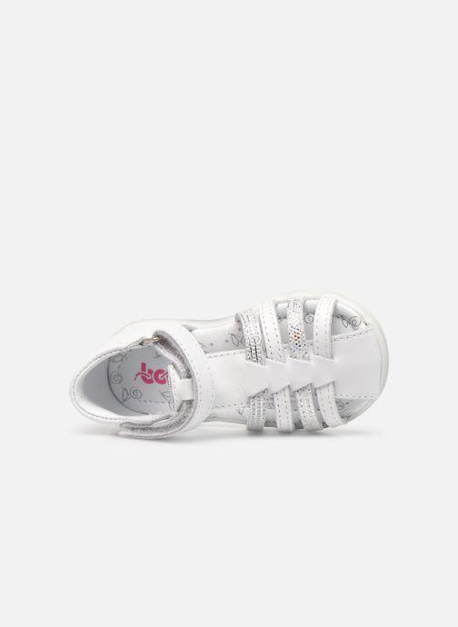 Sandales et nu-pieds Bopy Rocleta Blanc vue gauche