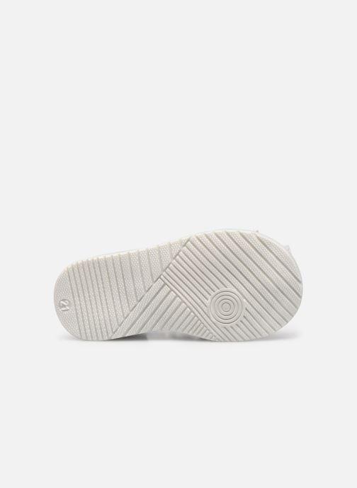 Sandales et nu-pieds Bopy Rocleta Blanc vue haut