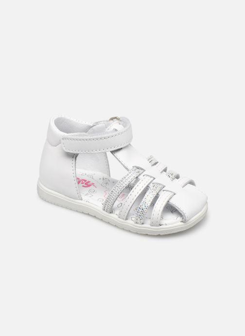 Sandales et nu-pieds Bopy Rocleta Blanc vue détail/paire