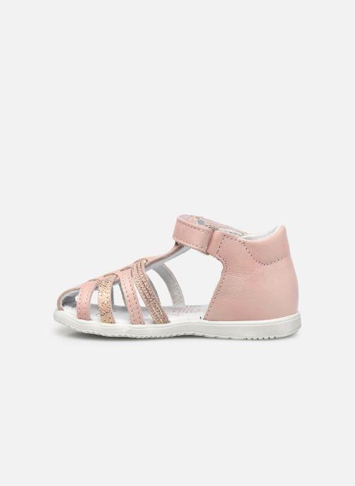 Sandalen Bopy Rocleta rosa ansicht von vorne