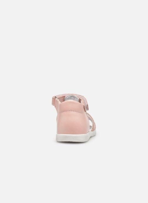 Sandalen Bopy Rocleta rosa ansicht von rechts