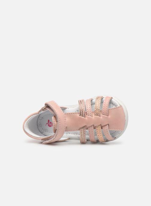 Sandalen Bopy Rocleta rosa ansicht von links