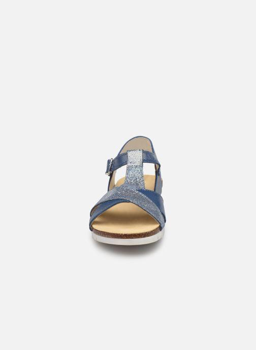 Sandalen Bopy Ebrico blau schuhe getragen
