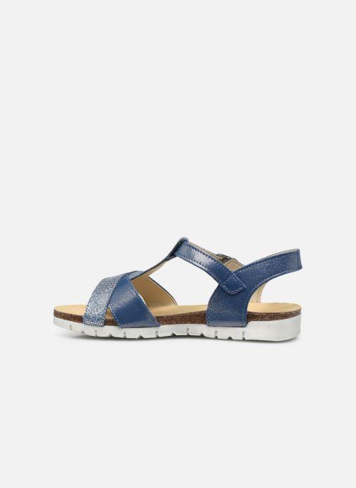 Sandalen Bopy Ebrico blau ansicht von vorne