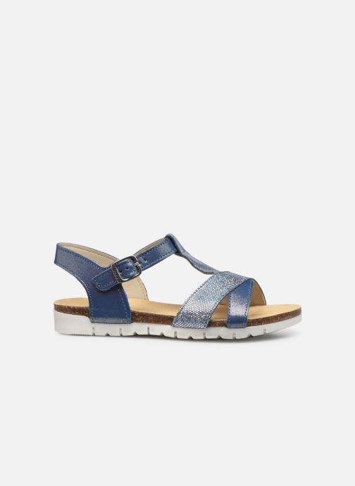Sandalen Bopy Ebrico blau ansicht von hinten