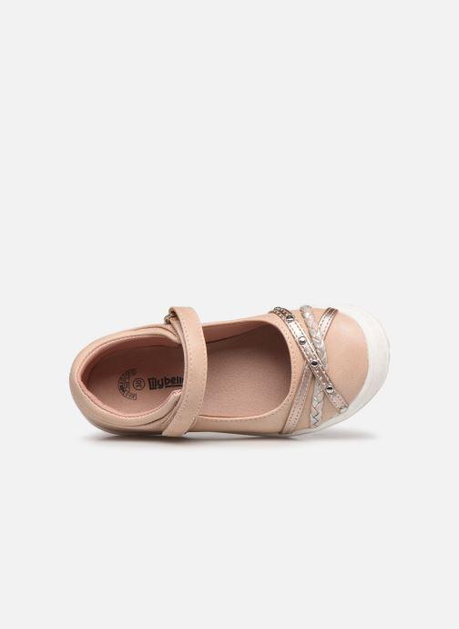 Ballerinas Bopy Gyslana Lilybellule rosa ansicht von links
