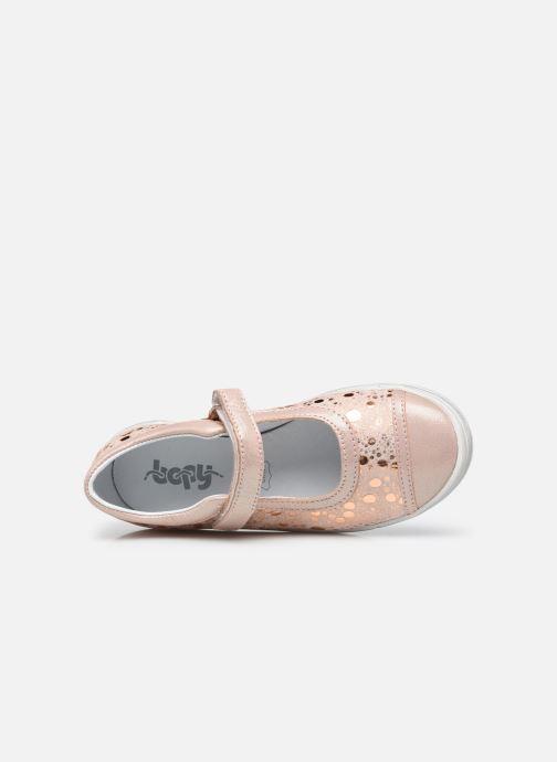 Ballerinas Bopy Sensora beige ansicht von links