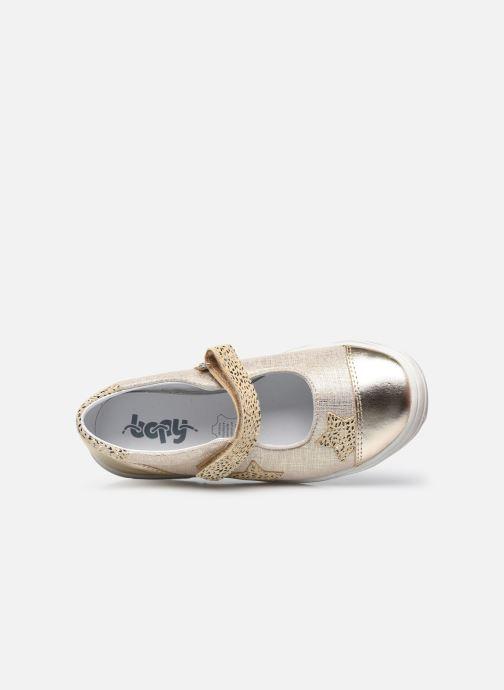 Ballerinas Bopy Sapenta gold/bronze ansicht von links