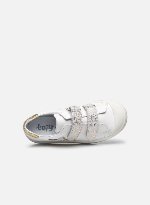 Sneaker Bopy Sadouvel weiß ansicht von links