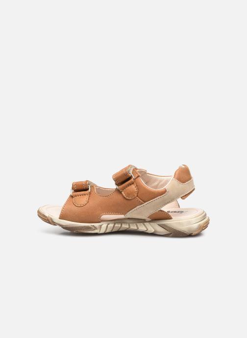 Sandalen Bopy Eclat braun ansicht von vorne