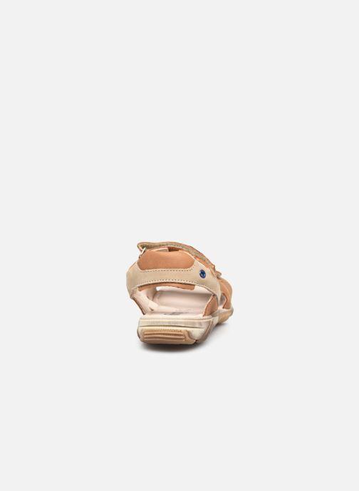 Sandalen Bopy Eclat braun ansicht von rechts
