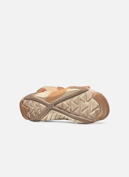 Sandalen Bopy Eclat braun ansicht von oben