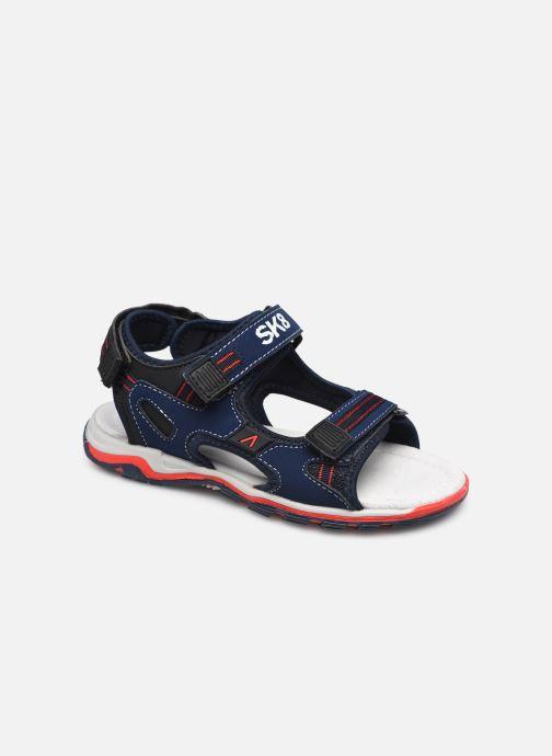 Sandales et nu-pieds Bopy Glocus SK8 Bleu vue détail/paire