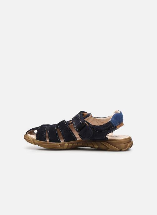 Sandalen Bopy Ecotim blau ansicht von vorne
