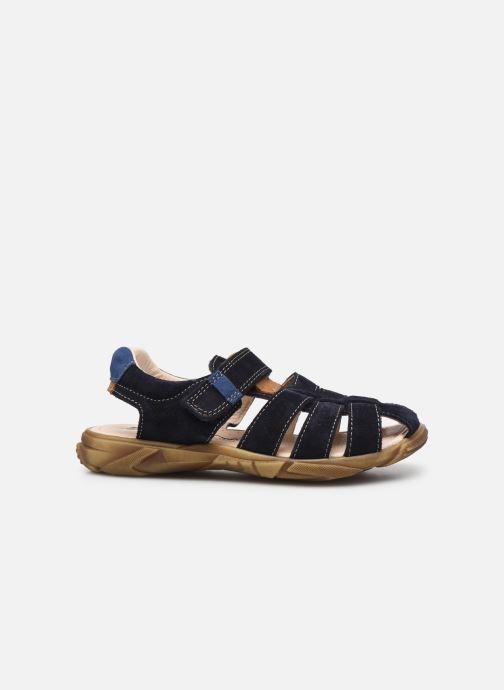 Sandalen Bopy Ecotim blau ansicht von hinten