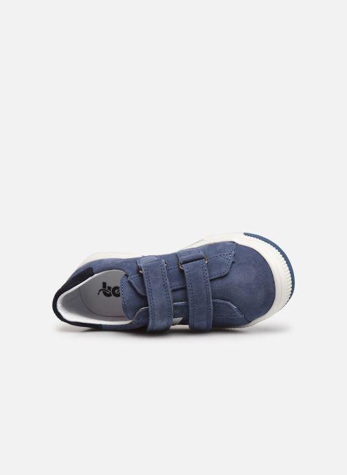 Sneaker Bopy Vlacro blau ansicht von links