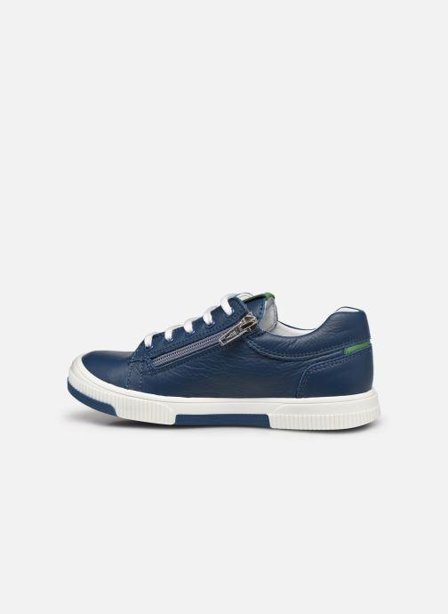 Sneaker Bopy Vika blau ansicht von vorne