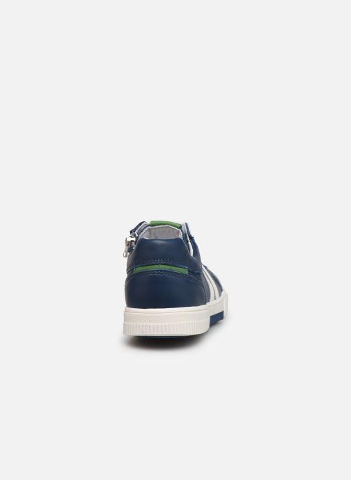 Sneaker Bopy Vika blau ansicht von rechts