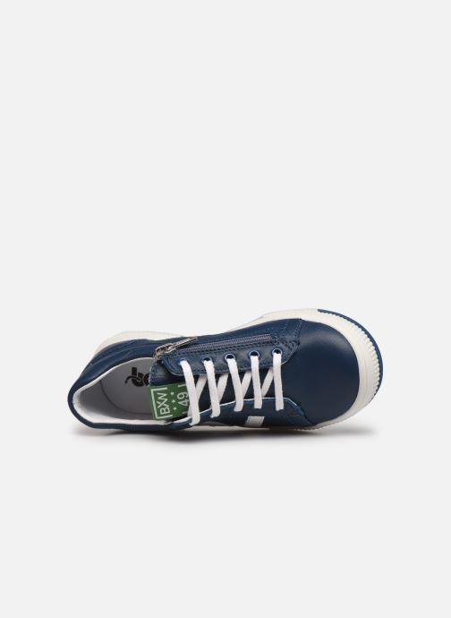 Sneaker Bopy Vika blau ansicht von links