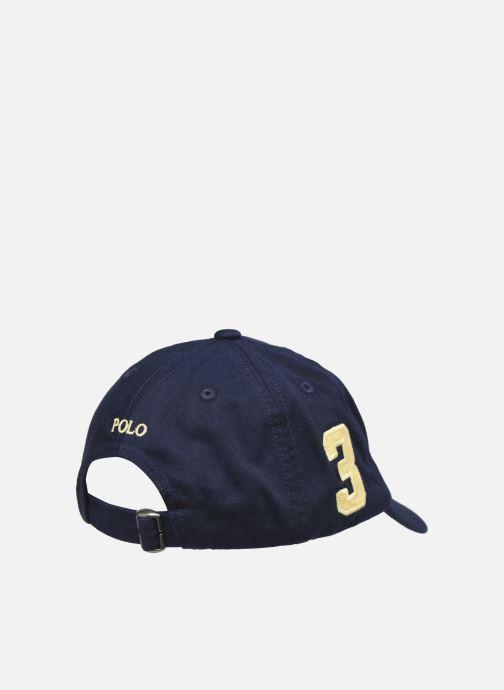 Kappe Polo Ralph Lauren big pp cap-apparel accessories-hat blau schuhe getragen